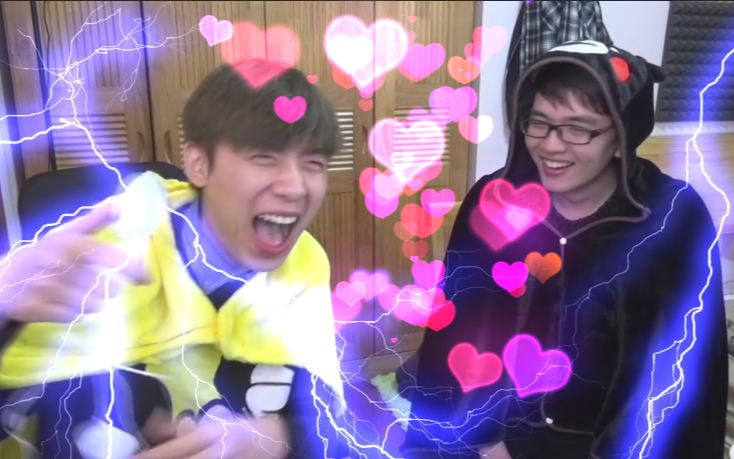 【中国Boy&允星河】两只被电疯的大猩猩