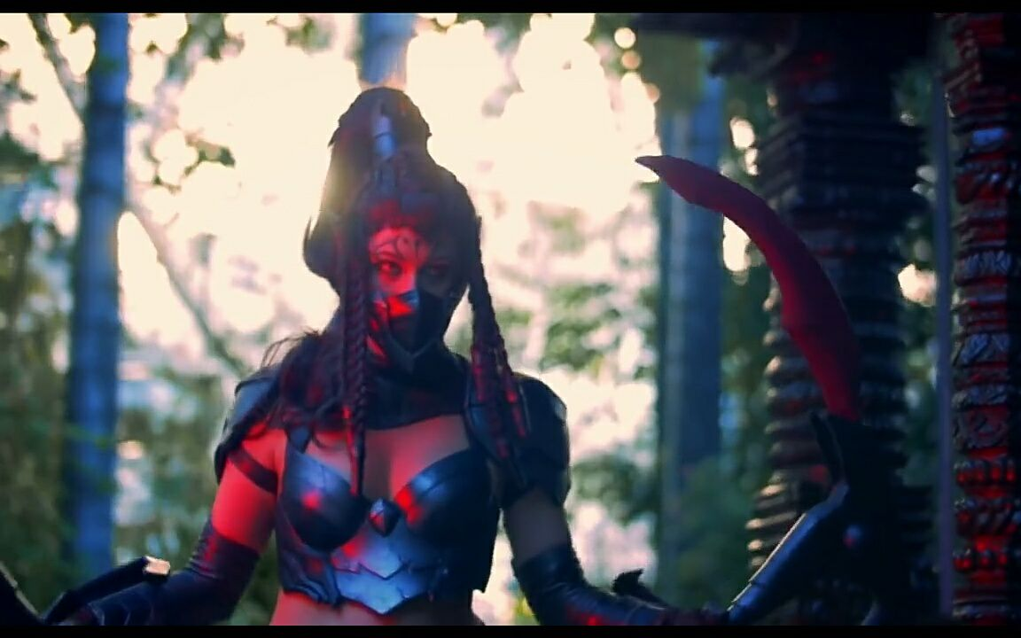 英雄联盟cosplay系列:这个天使像极了五五开