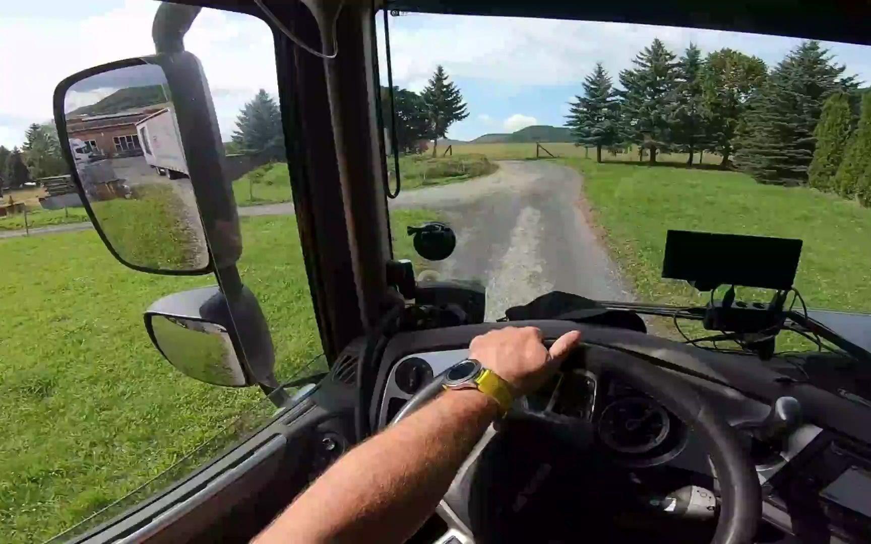 [第一人称驾驶POV] 卡车驾驶,复杂的一天2/4部分