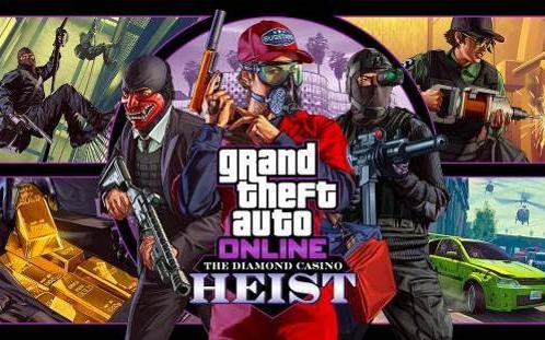 GTA5线上模式名钻赌场豪劫 【气势汹汹】单人全部前置加分红关视频攻略合集