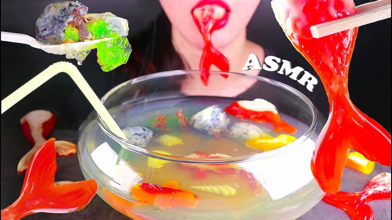 【yummy】食用金鱼、鱼缸、吃声音果冻流行蛋糕木桶恶作剧(2019年8月19日10时46分)