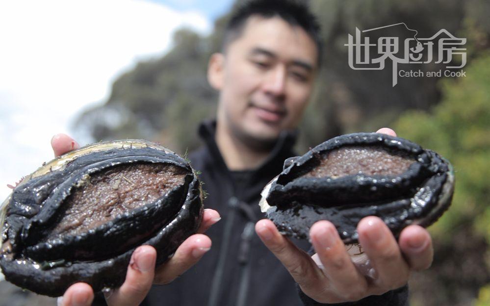 黑鲍鱼_世界厨房第12集:又污又黑的大鲍鱼该怎么吃才好呢?