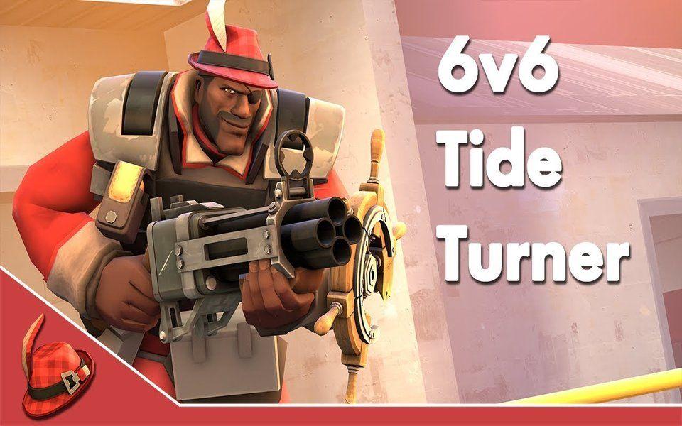[TF2] 6v6 Tide Turner Frag Video_哔哩哔哩 (゜-゜)つロ 干杯~-bilibili