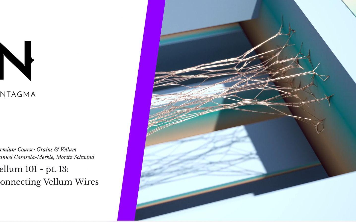 【Houdini】Vellum Connecting Wires_哔哩哔哩 (゜-゜)つロ 干杯~-bilibili