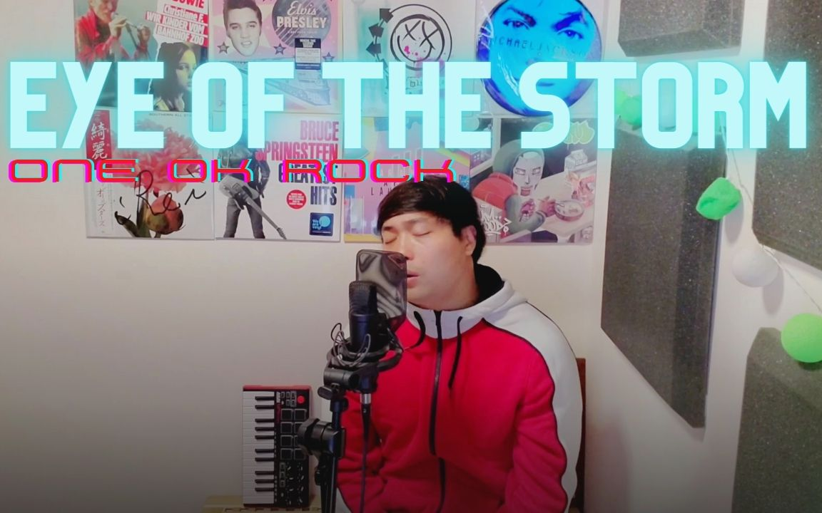 Eye Of The Storm [ONE OK ROCK] acoustic cover