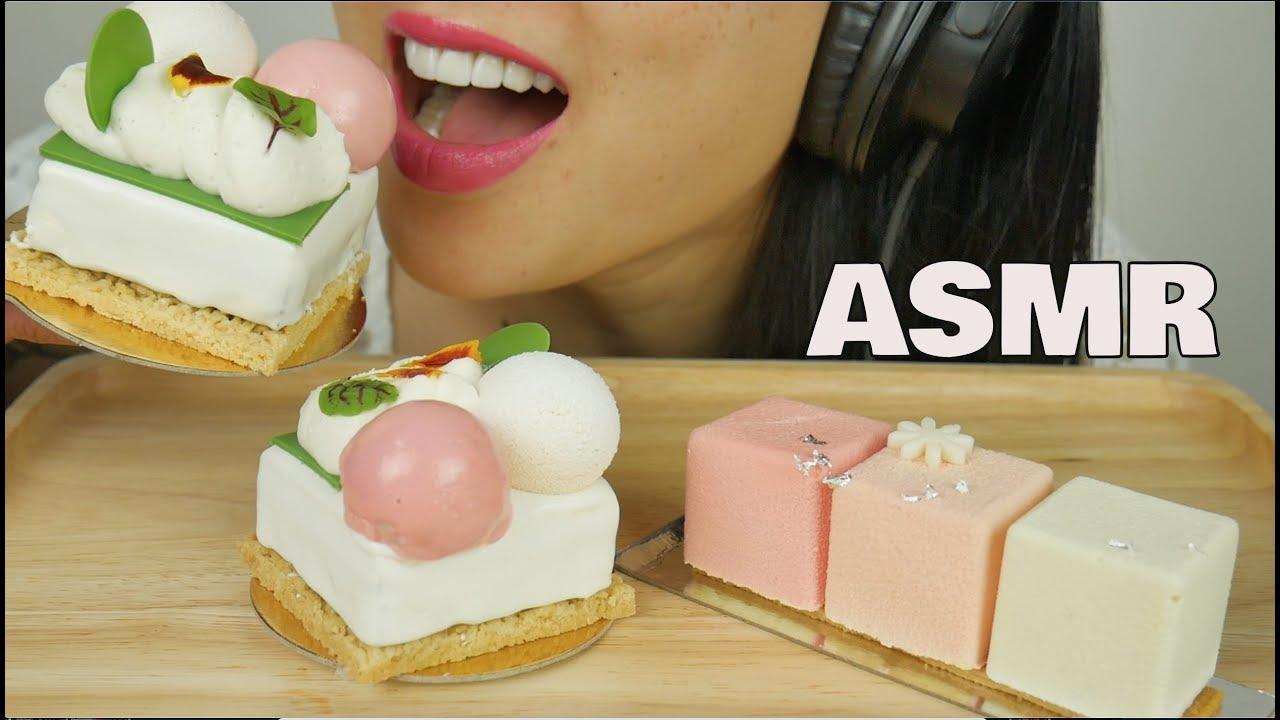 【sas】助眠花式甜点蛋糕(放松的进食声)不说话助SAS-助眠(2019年10月25日3时0分)
