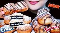 【ribong】油炸奥利奥和小甜饼,吃起来像木桶/不说话(2019年8月20日17时17分)