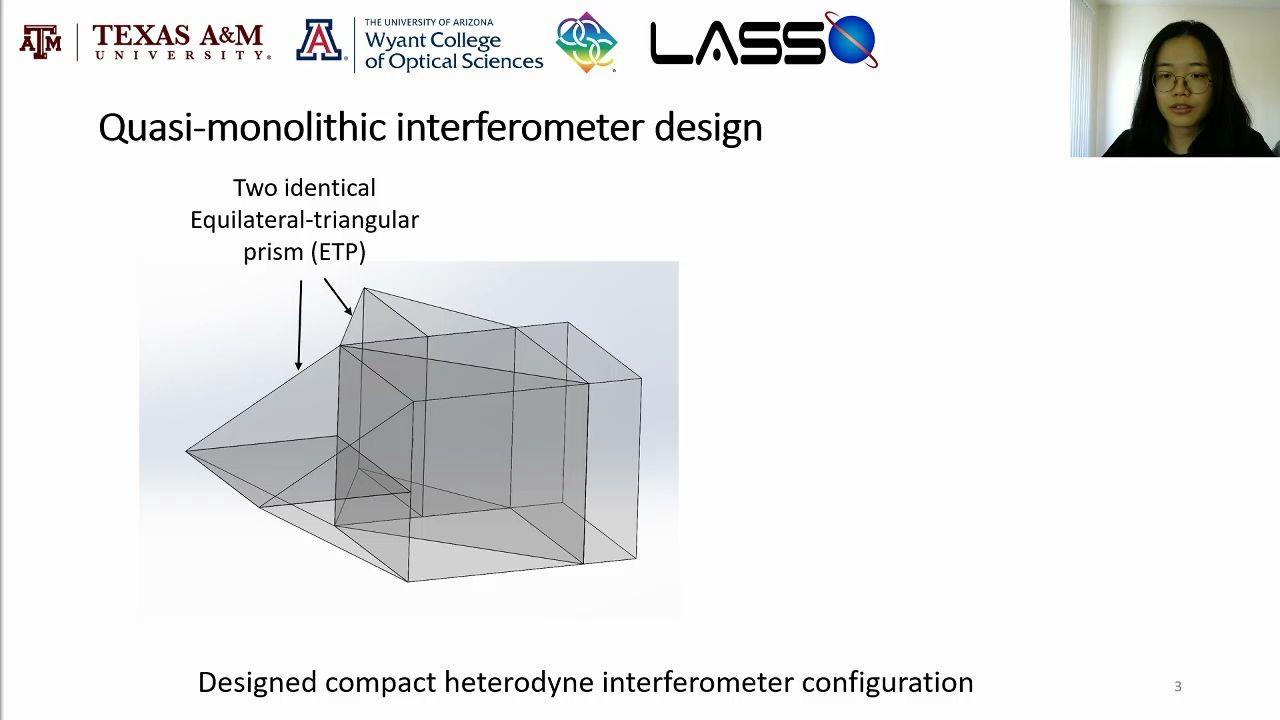 Compact quasi monolithic heterodyne laser interferometer 哔哩哔哩 ゜ ゜つロ  干杯~ bilibili