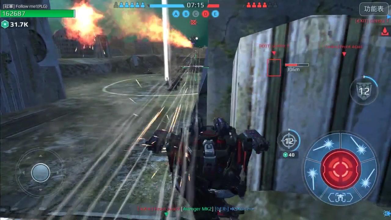 【War Robots】瞬移的摔炮