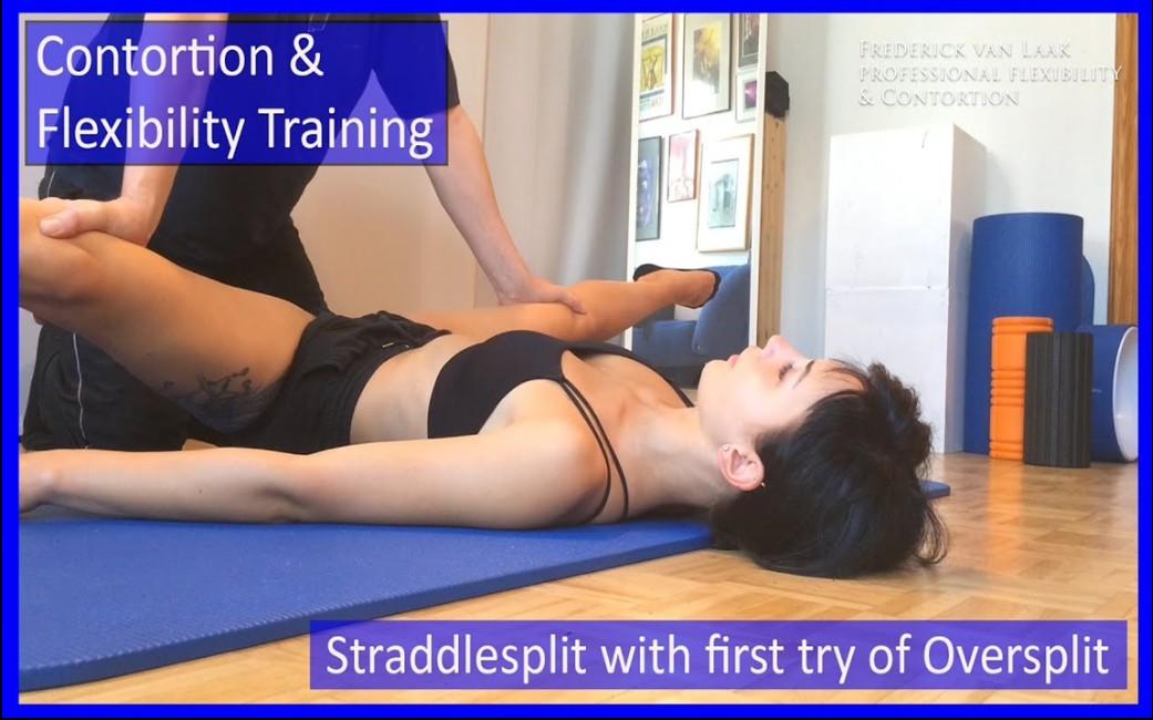 Flexyart 高级柔术灵巧柔韧训练-用于瑜伽,钢管舞