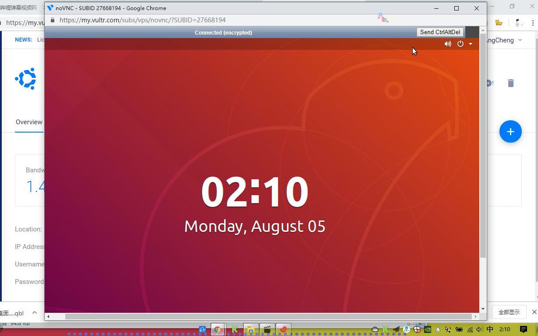 Ubuntu 18 04服务器安装gnome图形化桌面并vnc远程登陆--vultr_哔哩哔哩 (゜-゜)つロ 干杯~-bilibili
