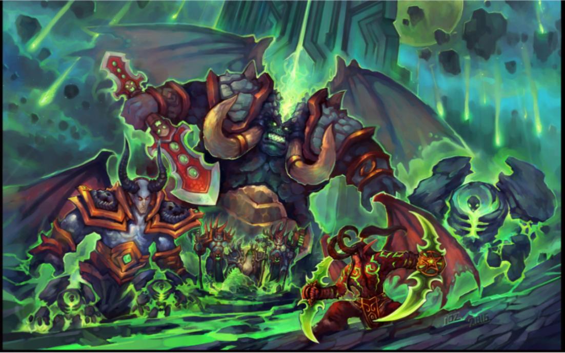 魔兽争霸3战役英雄介绍(阿克蒙德和他的走狗)