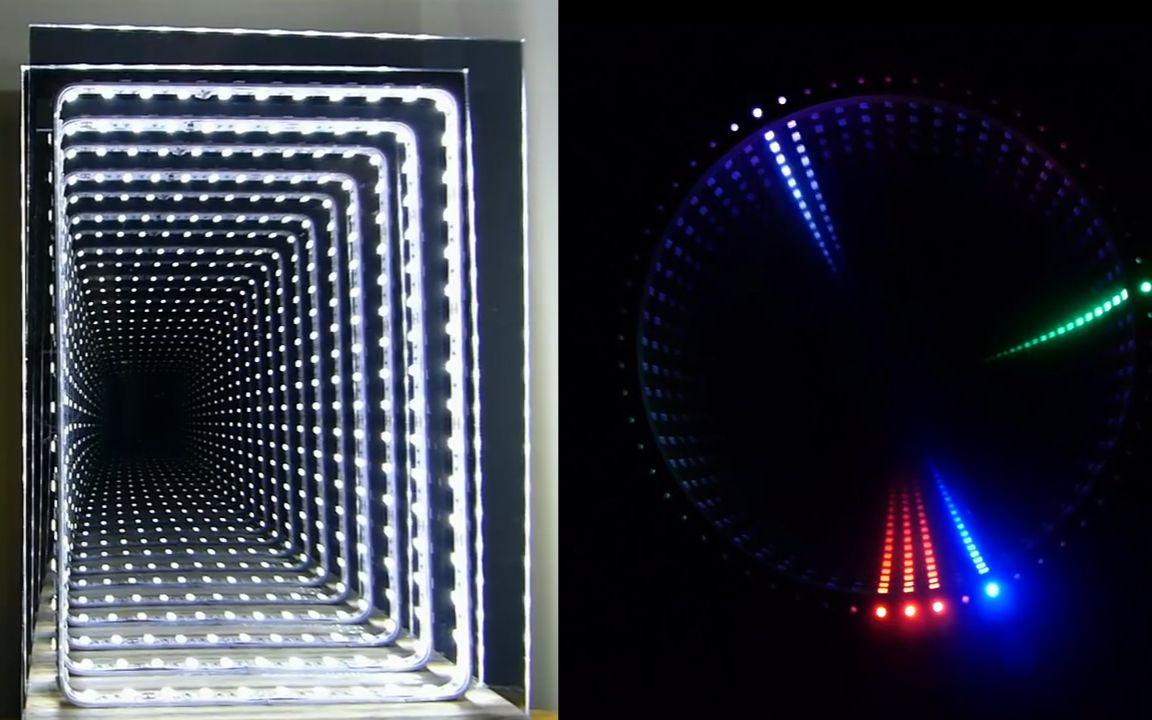 错觉手机壁纸_空间错觉 神奇的无限空间镜子_手工_生活_bilibili_哔哩哔哩