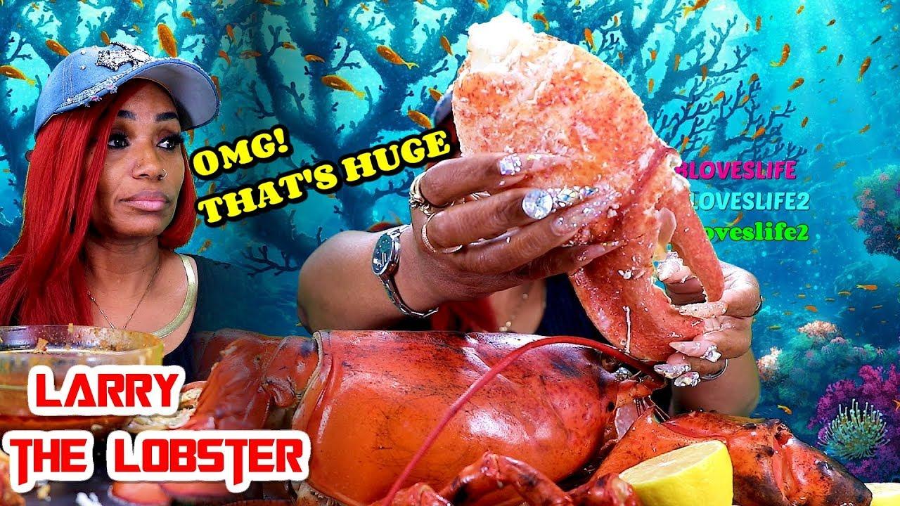 【吃蟹阿姨】15磅整只龙虾(拉里龙虾回来了)(2019年8月25日20时15分)