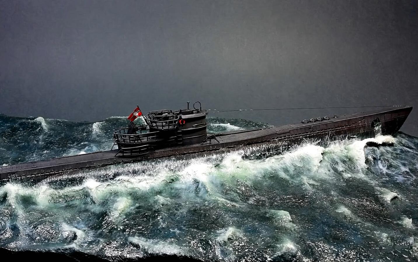 德国xxi潜艇_【U-Boat】德国VIIC/41型潜艇模型制作_野生技术协会_科技_bilibili_哔 ...