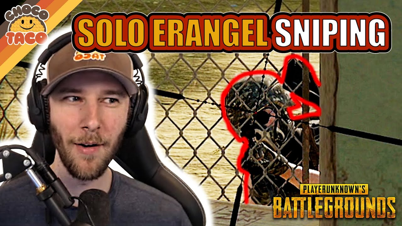 [转载/chocoTaco官方剪辑]Solo Sniping on Erangel - chocoTaco PUBG Solos Gameplay