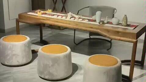 黑胡桃木茶桌