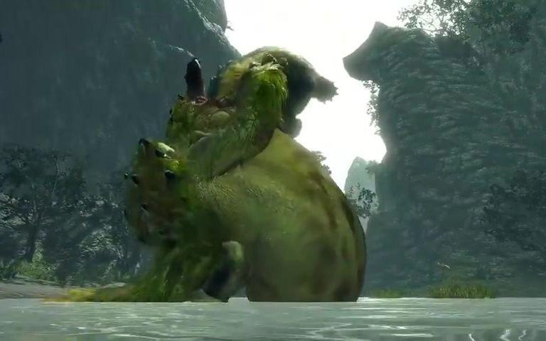 《怪物猎人崛起》也有抢地盘 青熊兽:等我哥红兜来你就知道错了
