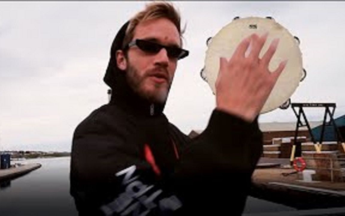 【Party In Backyard ft.pewdiepie】Tambourine Lasagna