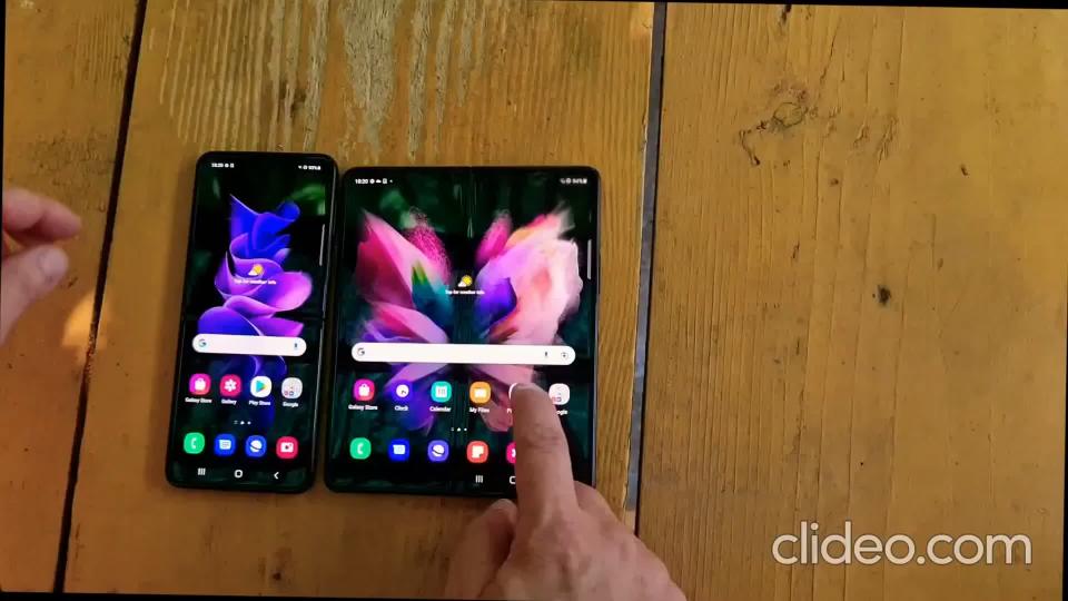 提前偷跑 外媒上手体验三星盖乐世Galaxy Z flip3 fold3