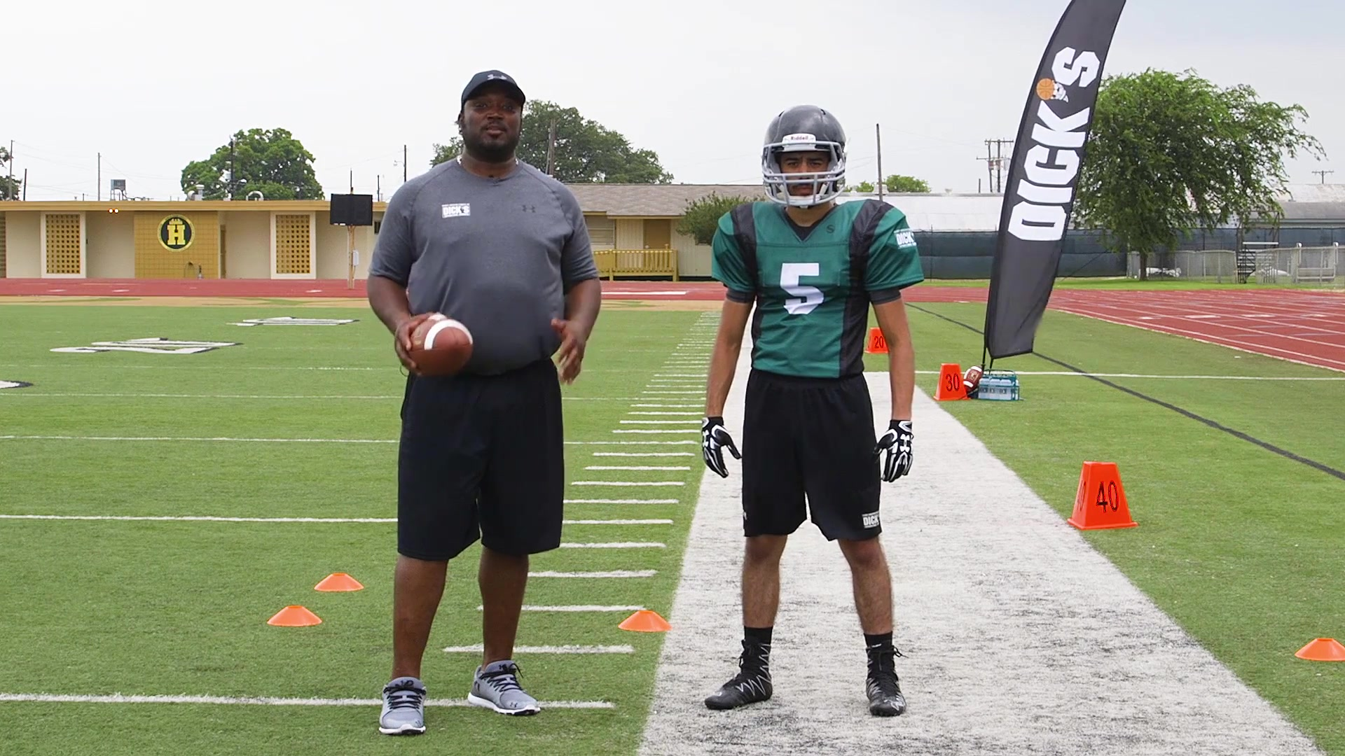 ProTips_ Football_ Football Receiver Drills_ Sideline Awareness and Ball Securit