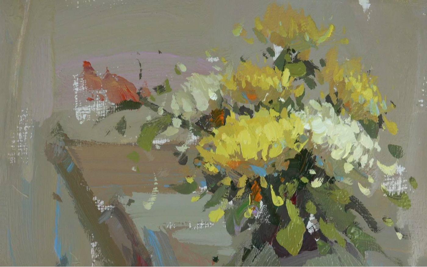 【孿生畫室】花卉色彩靜物示范