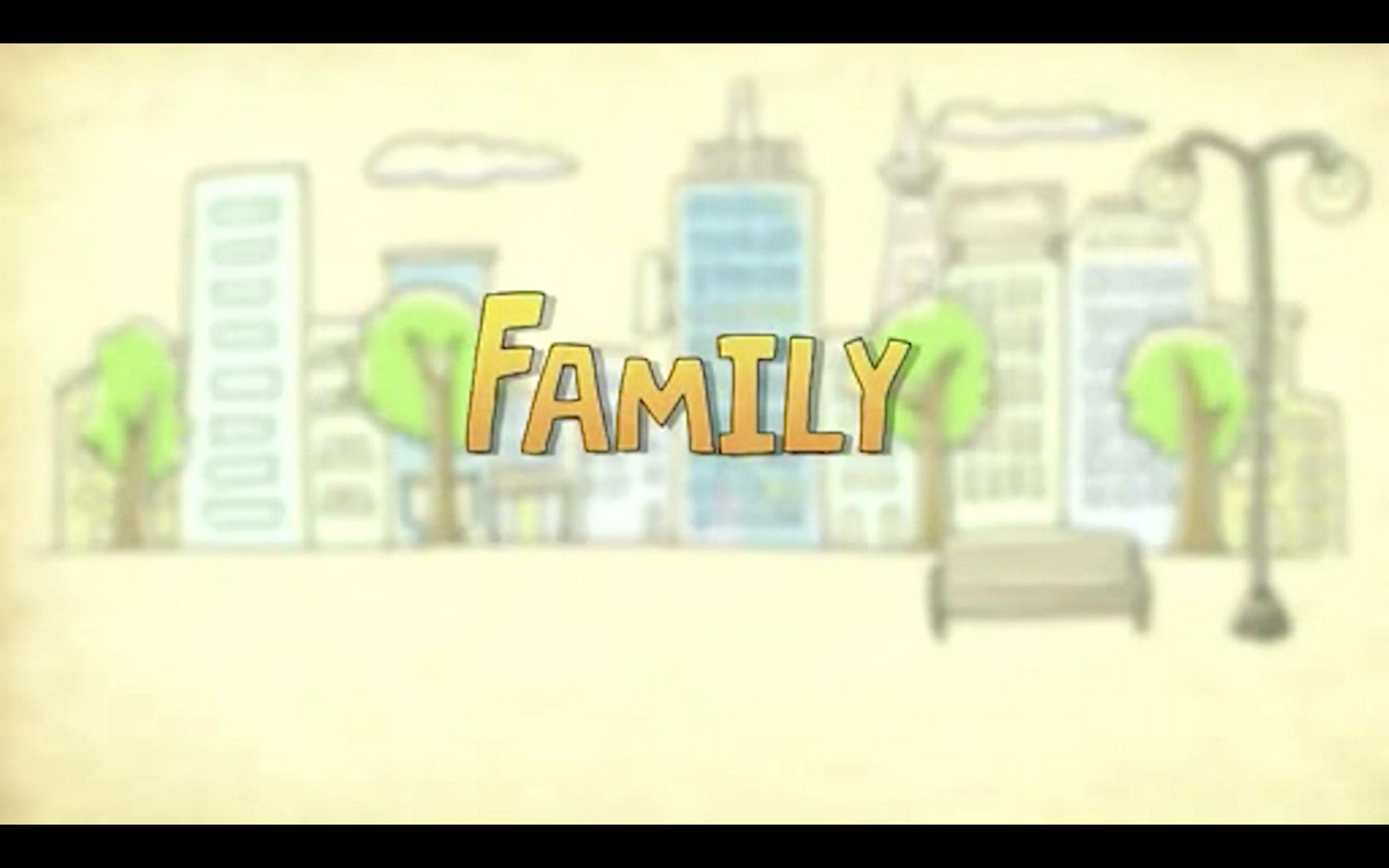 央视family_央视公益广告《family》英文配音中英双字幕_哔哩哔哩 (゜-゜)つロ ...