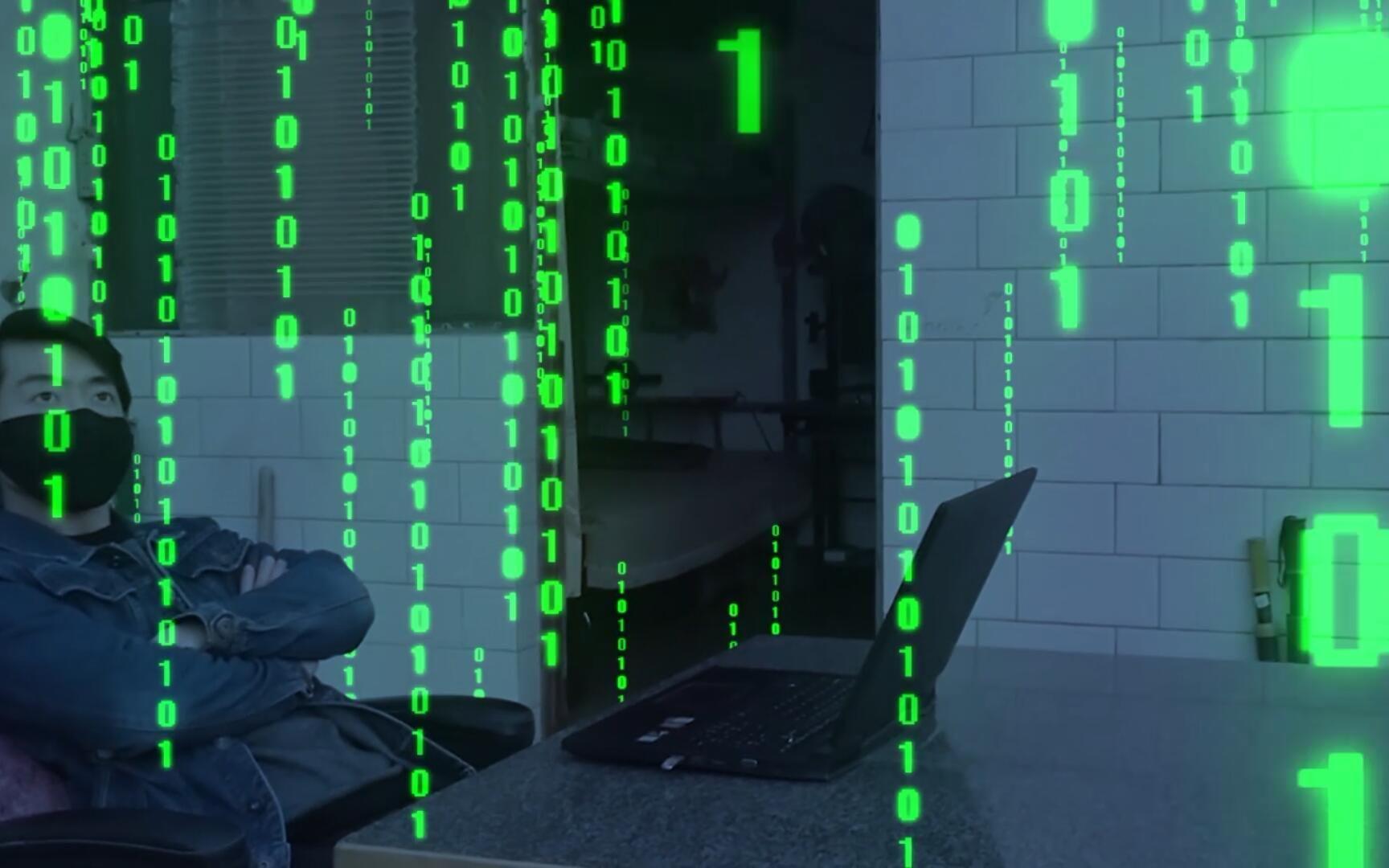 视频矩阵_AE如何制作炫酷的黑客帝国数字矩阵特效_哔哩哔哩 (゜-゜)つロ 干 ...