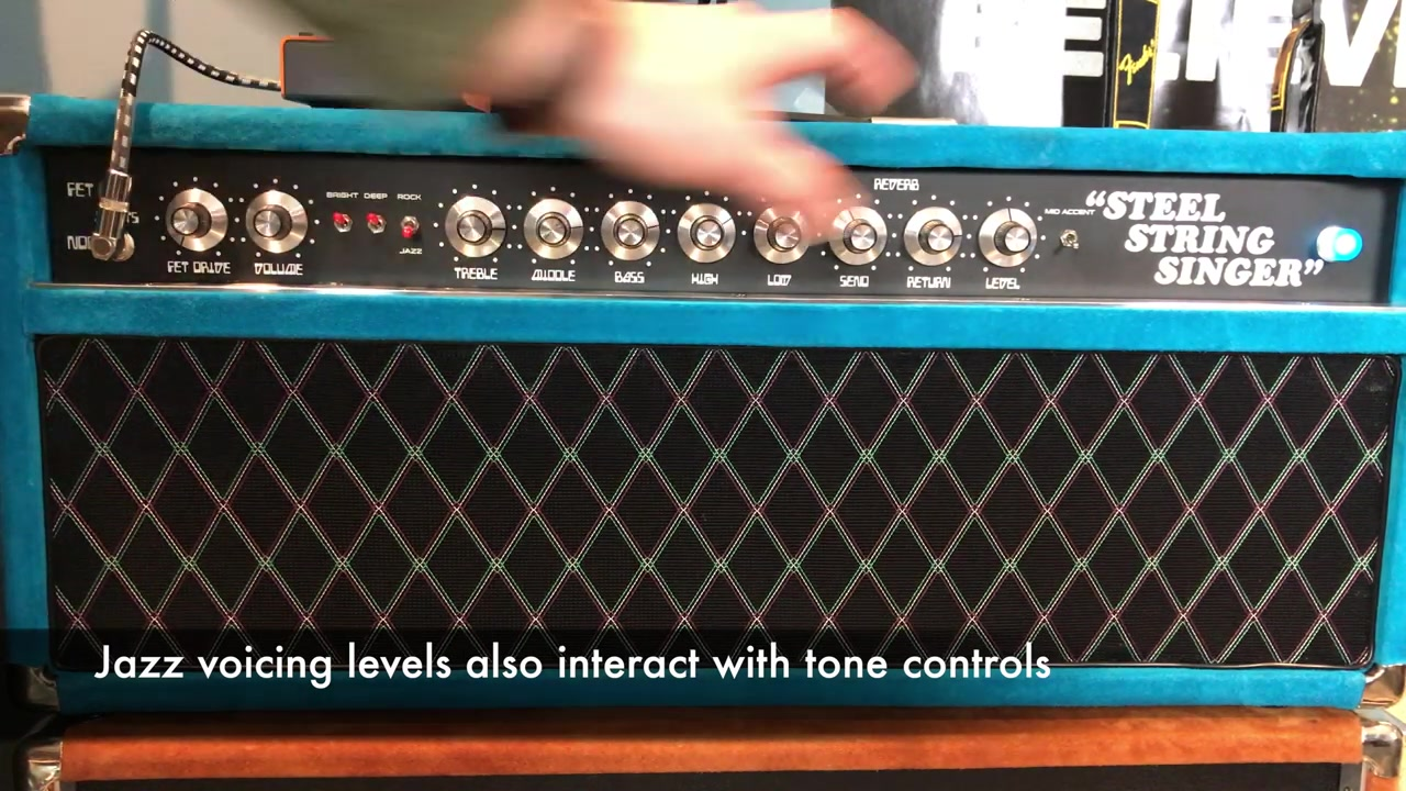 Tone Demo - Dumble Steel String Singer #004 Clone w- 2x JBL D131_哔哩哔哩  (゜-゜)つロ 干杯~-bilibili