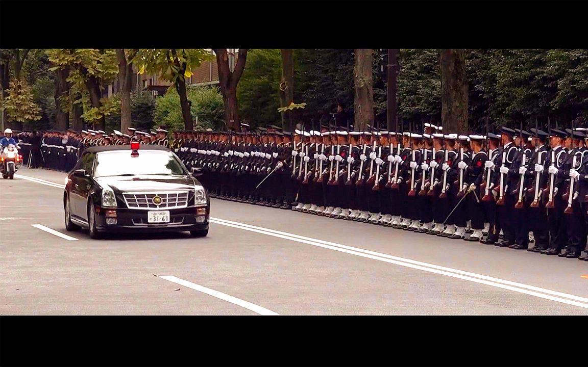 2019年10月 日本令和元年 天皇继位军事典礼
