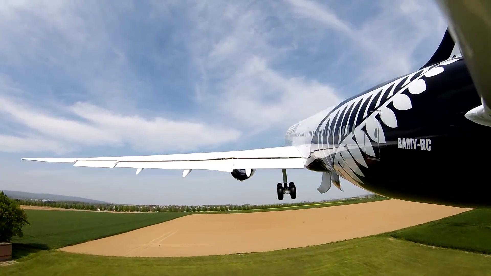 【RAMY RC】新西兰航空B787-9二次试飞 紧急着陆_哔哩哔哩 (゜-゜)つロ 干杯~-bilibili