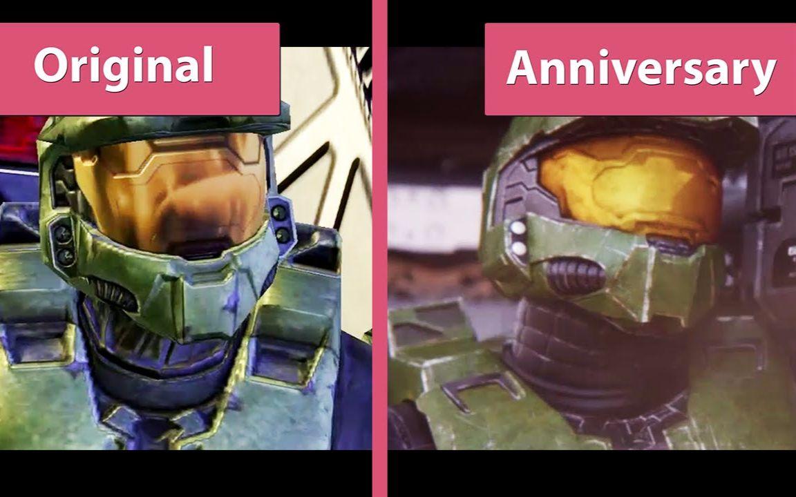 2周年纪念_光环2:周年纪念版 原版 vs 高清重制版 过场动画的画面特效对比 ...