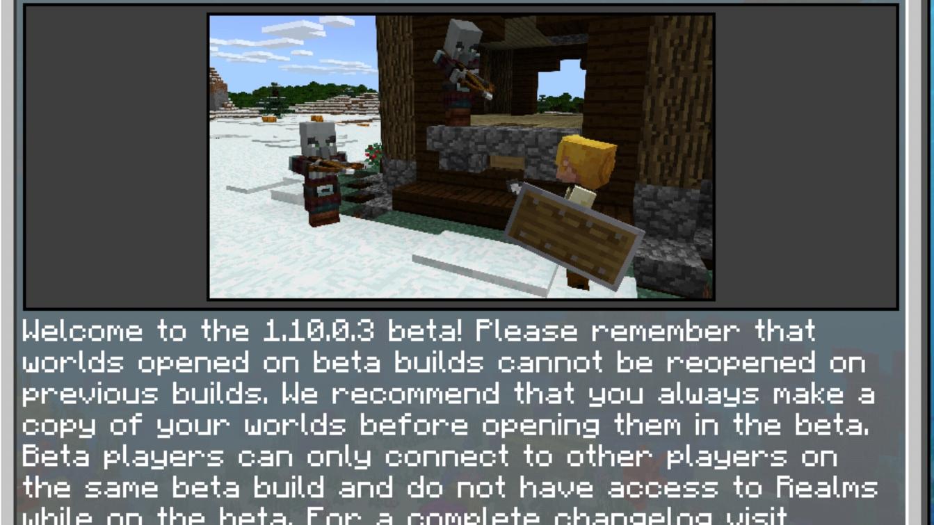 Minecraft 1 10 0 3 Bate (Update content) - 哔哩哔哩