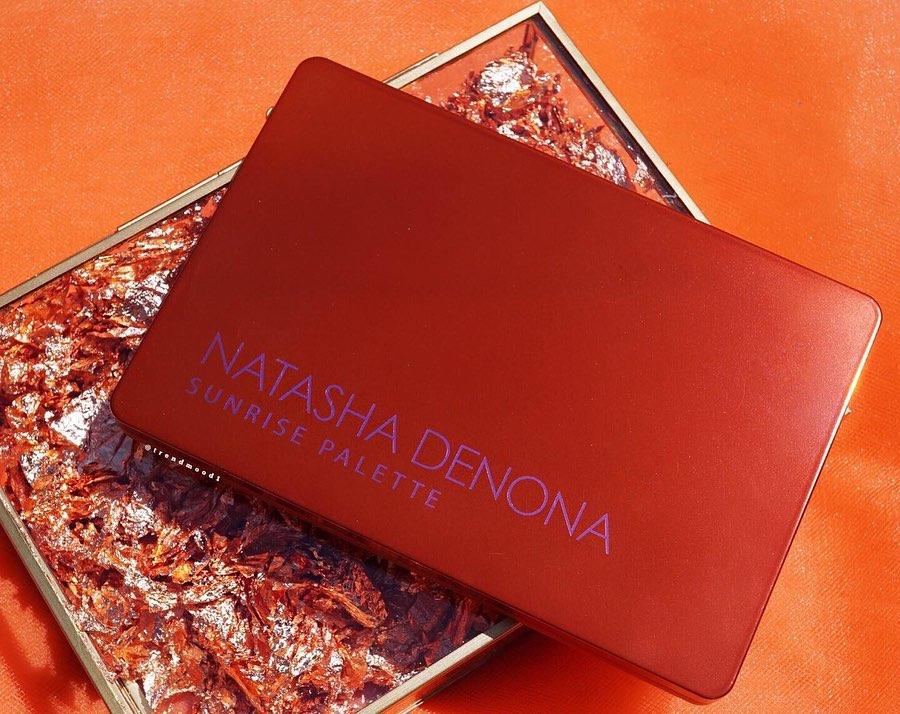 natasha denona 推出新眼影盤日出盤