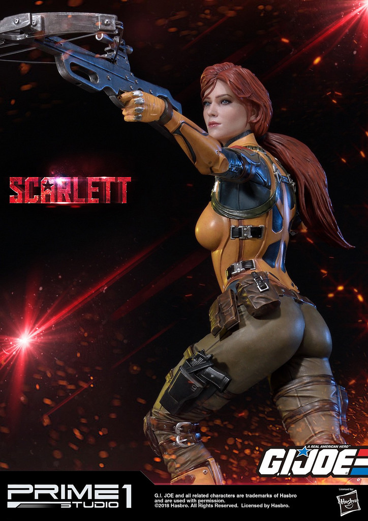 特种部队2红发女_Prime 1 Studio《特种部队》1/4 斯嘉蕾(红发女) 雕像 开售公布 - 哔哩 ...