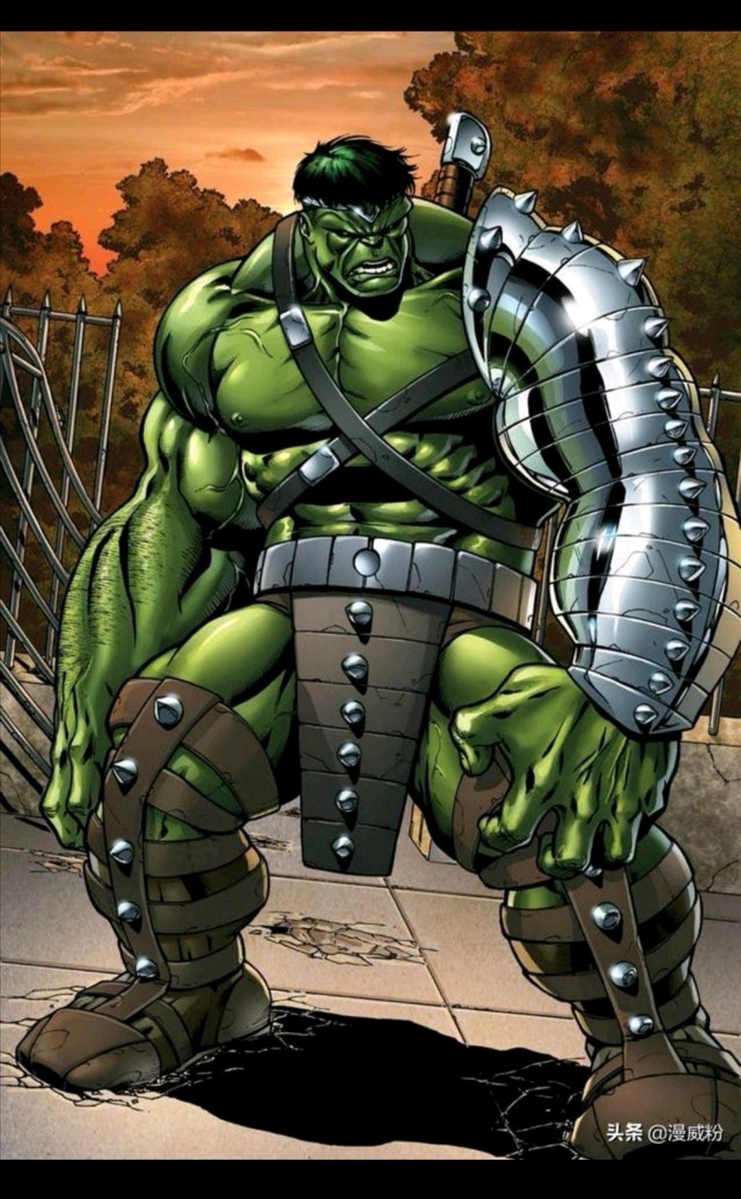绿巨人穿过的九套装备,第八套像黑手党。