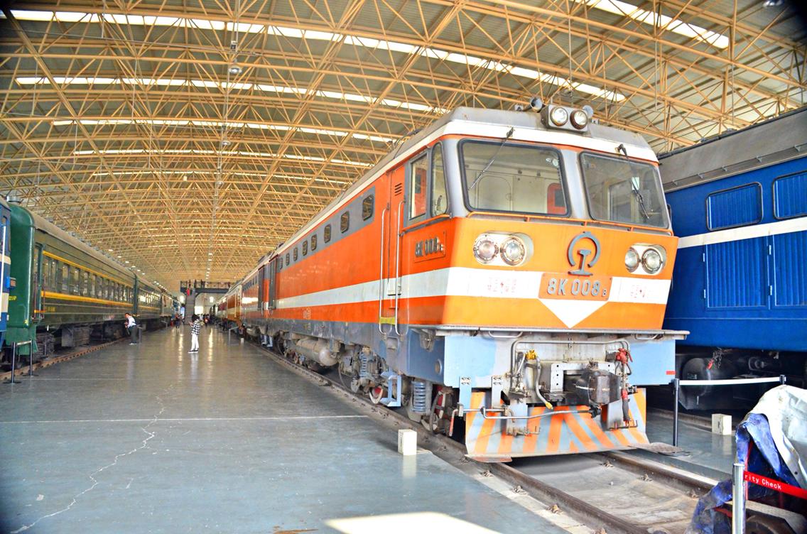 鐵道少女project科普第五十六期8K型電力機車