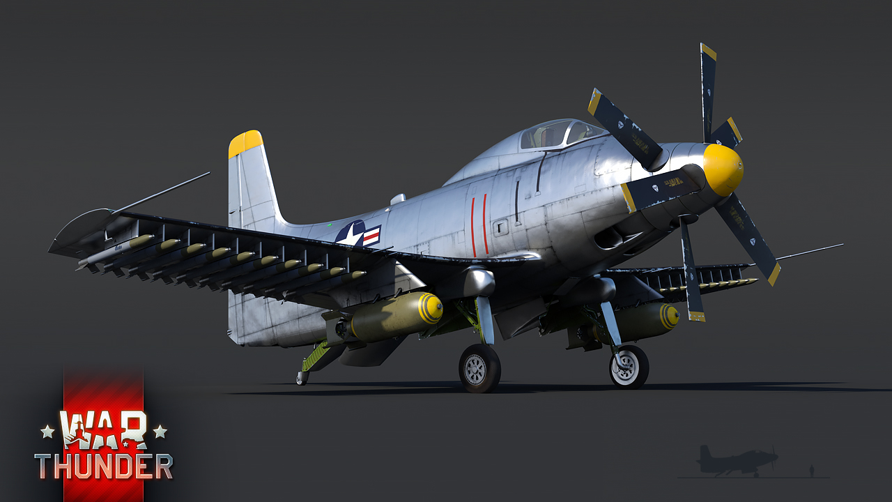 """道格拉斯A2D-1""""天鲨""""攻击机"""