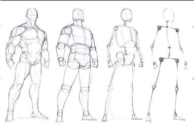 动漫人体结构_《游戏动漫人体结构手绘造型结构技法》——那些关于每个人都绕不开