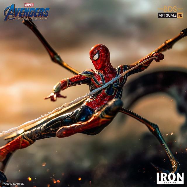 Iron Studios《复仇者联盟:终局之战》钢铁蜘蛛 1/10比例 雕像