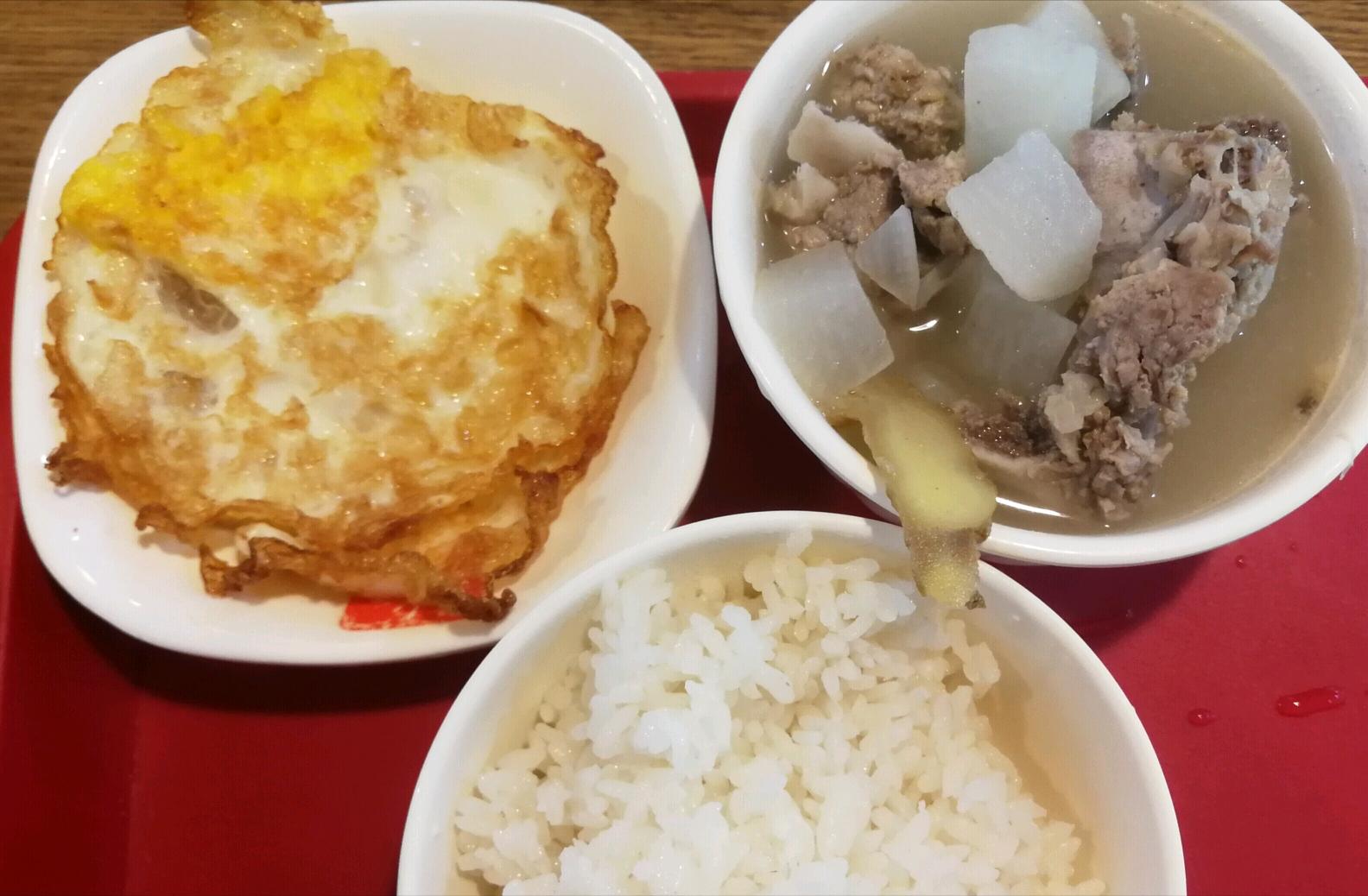 学生党食堂餐小基数减肥DAY10