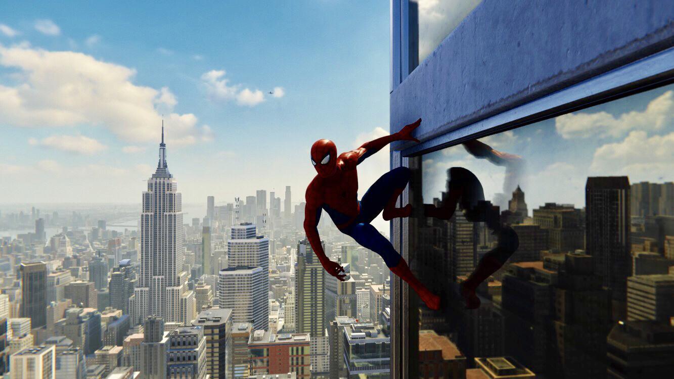 蜘蛛侠帅气截图