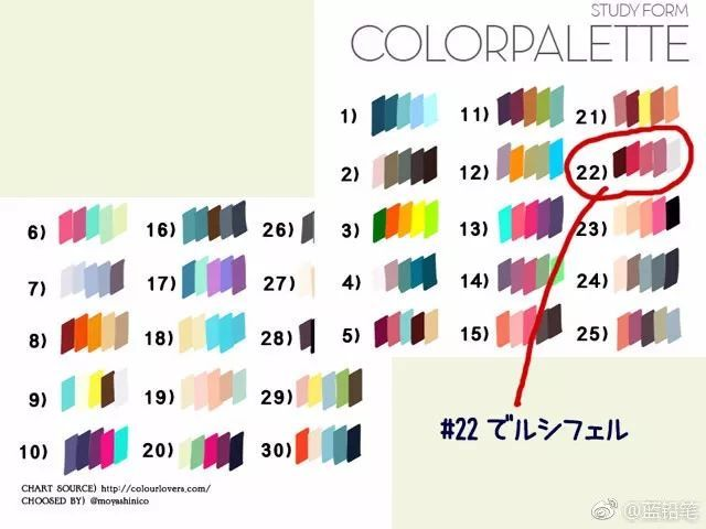 类似色相配色_彩虹既是色调配色,也属于渐进配色 用色相,明度或艳度的反差进行搭配