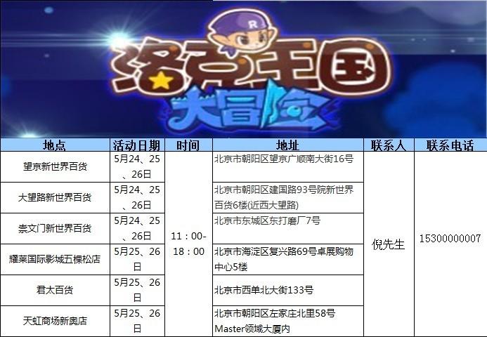 [新闻]2013-02-05至2014-07-03 洛克王国
