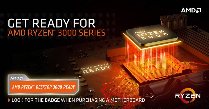 AM4平台可继续支持锐龙3000系列处理器