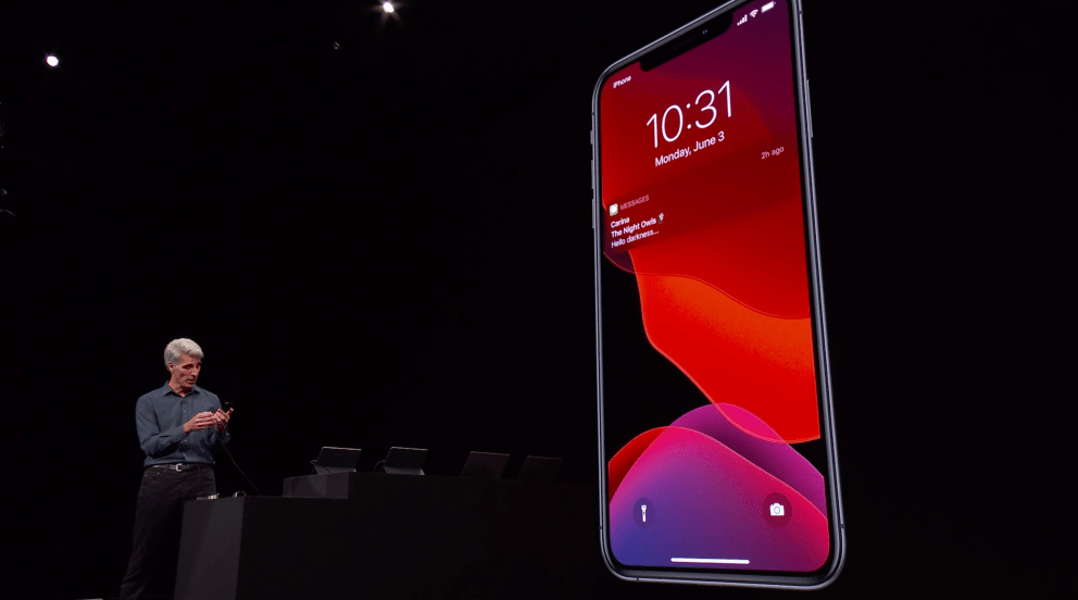 今天苹果正式发布iOS 13添加了期待已久的黑暗模式等新功能