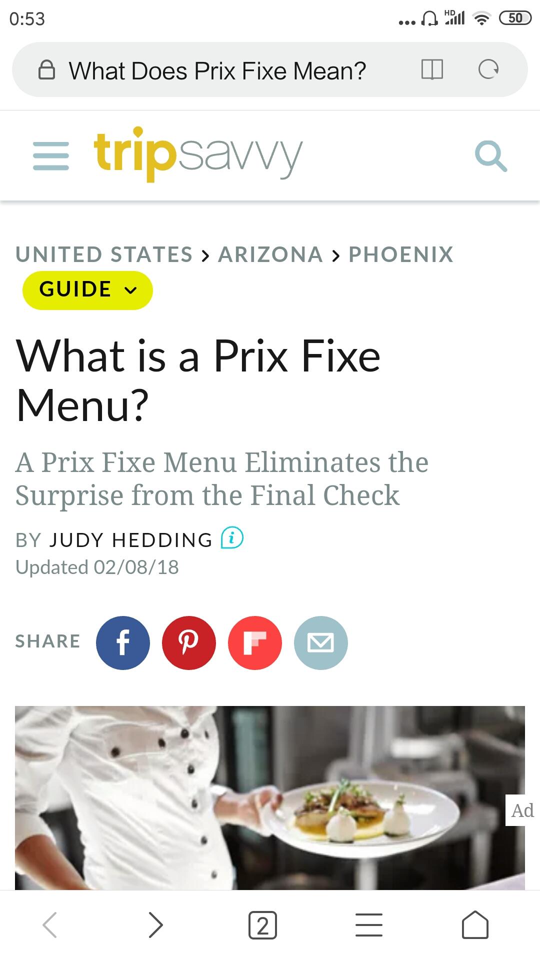 What is a Prix Fixe Menu?什么是Prix Fixe菜单