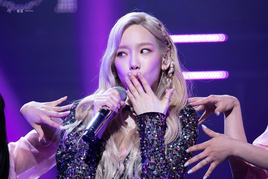 韩国最杠女爱豆!少女时代泰妍亲自挂黑粉,这样做过分吗?