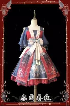 洛丽塔风格服装_而洛丽塔风格传入中国也经过了一定本土化,民族化的设计改良.