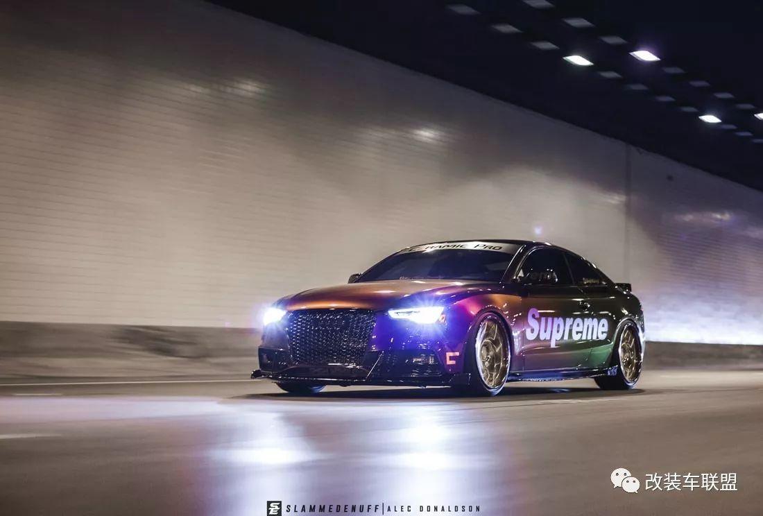 很燃 | 感受改装车带来的时尚与激情!2013 Audi S5